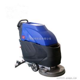 新款手推式洗地机仓库车间水泥地面移动式洗地机BT-X3