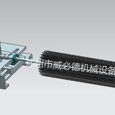 电厂皮带输送机改造用电动毛刷清扫器