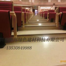 深圳华邦耐磨橡胶地板 2mm防滑幼儿园专用环保橡胶地板商家