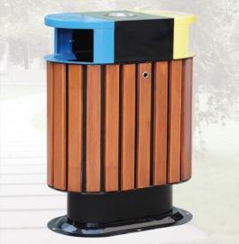 垃圾桶/南京垃圾桶/垃圾桶厂家/钢木垃圾桶SDF-100