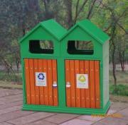 垃圾桶/南京垃圾桶/垃圾桶厂家/钢木垃圾桶SDF-101