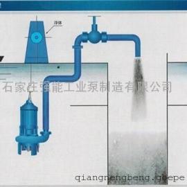 浙江潜水渣浆泵,强能泵ZJQ150-S潜水渣浆泵价格