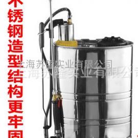 不锈钢气压式背负式喷壶、农用园艺打药喷雾器16升