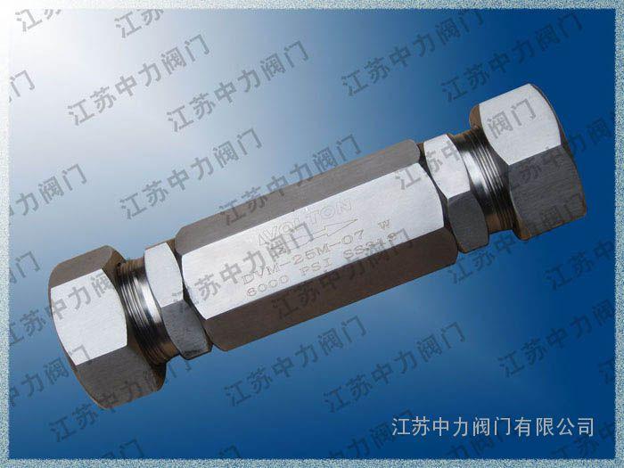 GH21X超高压不锈钢止回阀
