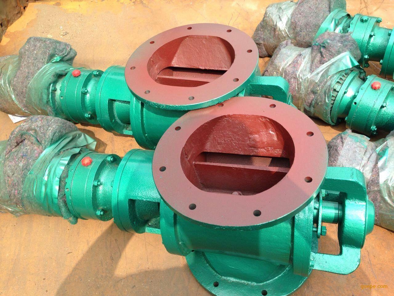 银川YJD-200圆口不锈钢卸灰阀卸料器配置参数提供如下
