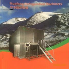 隧道式宽网带单体冻结机