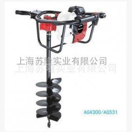 小松AG4300挖坑机//植树机 日本进口挖坑机
