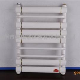 家用暖气片壁挂式小背篓 卫浴专用水暖钢制散热器毛巾架