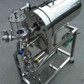 上海滤凯厂家直销不锈钢卧式硅藻土过滤器,白酒过滤机,品质保证