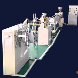 小型管材机-塑料挤管机- 现场实物图片