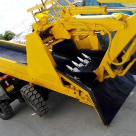金属矿专用巷道式装载机 扒渣机LWT-50/60型
