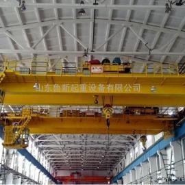 厂家非标定做双梁桥式起重机QD型双梁吊钩起重机找鲁新公司