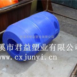 上虞清淤塑料浮筒排泥塑料管道浮体挖沙船管道水上浮