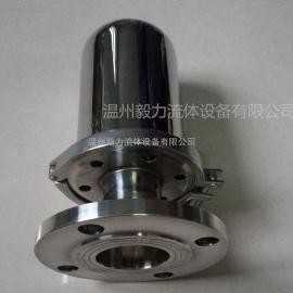 【厂家直销】304不锈钢法兰呼吸器 卫生级平焊法兰连接空气过滤器