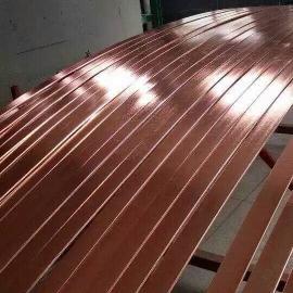 镀铜钢扁钢先进工艺打造更优质铜覆钢扁钢