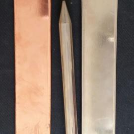 铜包钢扁钢国标铜层厚度更加耐腐蚀