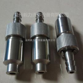 温州毅力厂家直销304不锈钢排气阀 焊接手动三联排气阀 放气阀