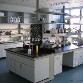 实验室钢木中央台 钢木实验室家具生产厂家