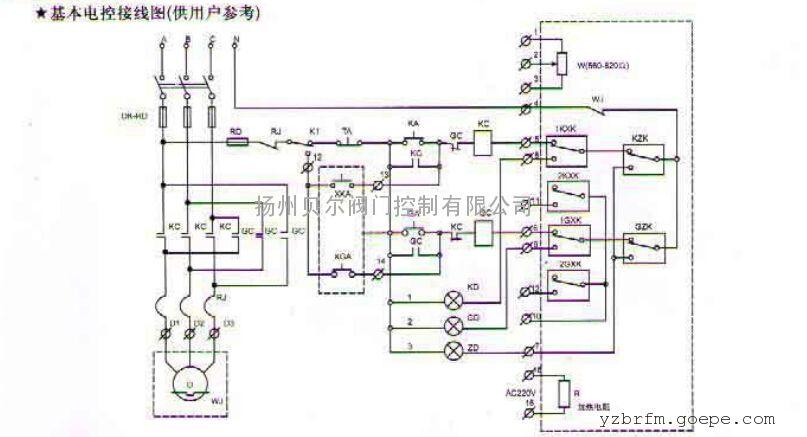 lq80-1电动法兰蝶阀图片