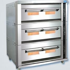 新麦燃气烤箱SM-803A 煤气烤炉 三层十五盘烤箱