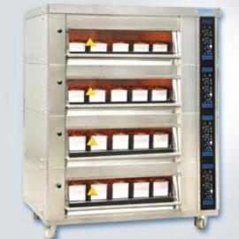 新麦电烤箱MB-644F 电烘炉 烘箱 四层16盘