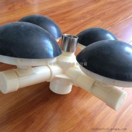 215 192球冠形曝气头 抗压半球形曝气器 球形曝气器