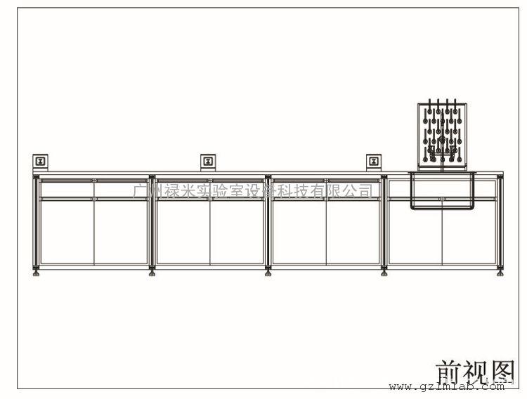 铝合金结构 防酸碱台面 实验台 可免费上门设计