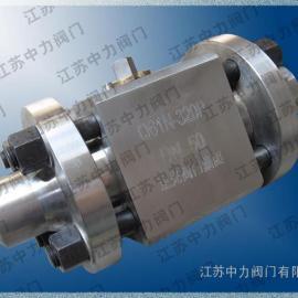 Q61F焊接式高温高压球阀