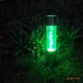 不锈钢太阳能草坪灯即插即用