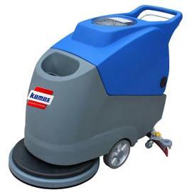 环氧地坪洗地机 环氧地面清洗用电瓶式全自动洗地机