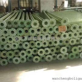 农田灌溉玻璃钢泵管 潜水泵用扬程管 玻璃钢井管