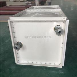 1立方玻璃钢水箱小型家用水箱 SMC组合式模压水箱 生活水箱