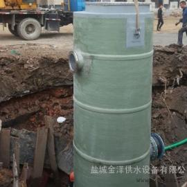 建湖县无人值守GPRS远程一体化污水提升泵站