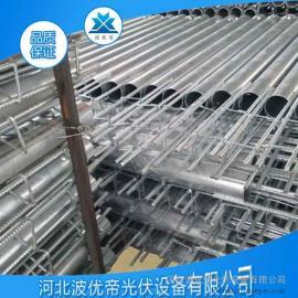 螺旋地桩 光伏支架 预埋桩基 热镀锌产品