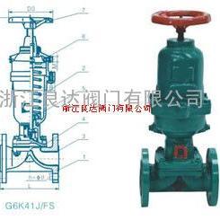 G6K41J国标气动衬胶常开式隔膜阀