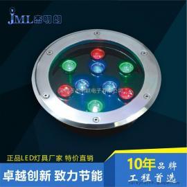 LED地埋灯 LED墙角灯 LED埋地灯 9WLED草坪灯