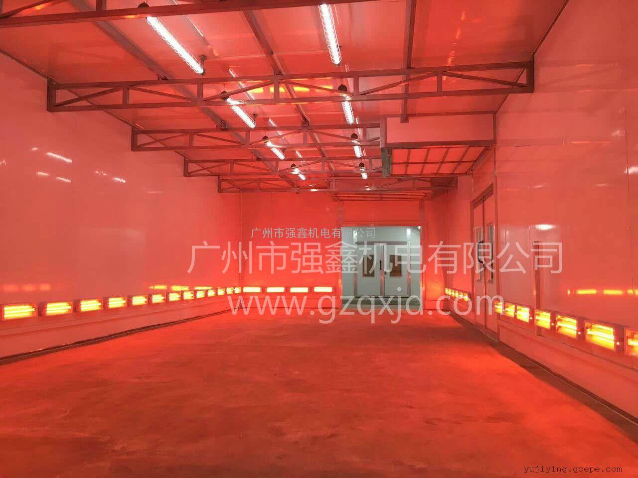 强鑫专业生产家具烤漆房 家具烘干房 红外线工业烤漆房价格