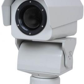 工矿工程场地野外搜索海滨浴场远距热成像夜视频监控云台摄像机