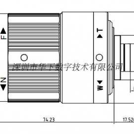 短波红外镜头900-1700nm 25/35/50/75/100