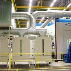 正境环保YWJC-100M中型6000-10000风量集中处理机床油雾收集器
