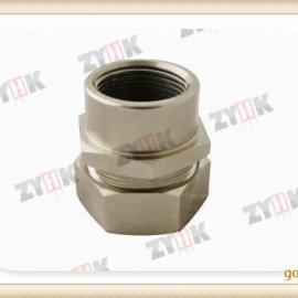 内蒙古供应不锈钢/锌合金/铜镀镍金属软管接头,内牙箱接头