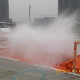 工地冲车机丨渣土车自动洗轮机丨IZA-8Z基坑式滚轴洗轮机易加尔