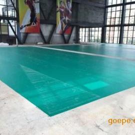 广东深圳羽毛球馆专用PVC胶地板 耐磨防滑环保PVC胶地板