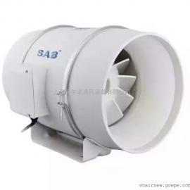 管道送风机YHF-315P管道加压风机斜流管道风机