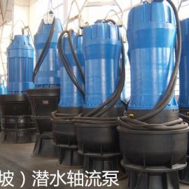 大口径潜水泵-天津大流量轴流泵-大流量污水泵