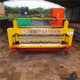 东光县浩鑫压瓦机供应全自动840/900型彩钢压瓦机