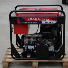 中频500A双缸柴油发电电焊机