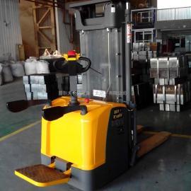 厂家供 电动堆高车CDDK20 电动升高装卸车 电动搬运车