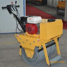 手扶小单轮汽油压路机