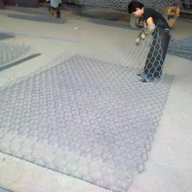 双鸭山护坡格宾网兜石笼网 专用河堤防洪铁丝网 生态格宾笼